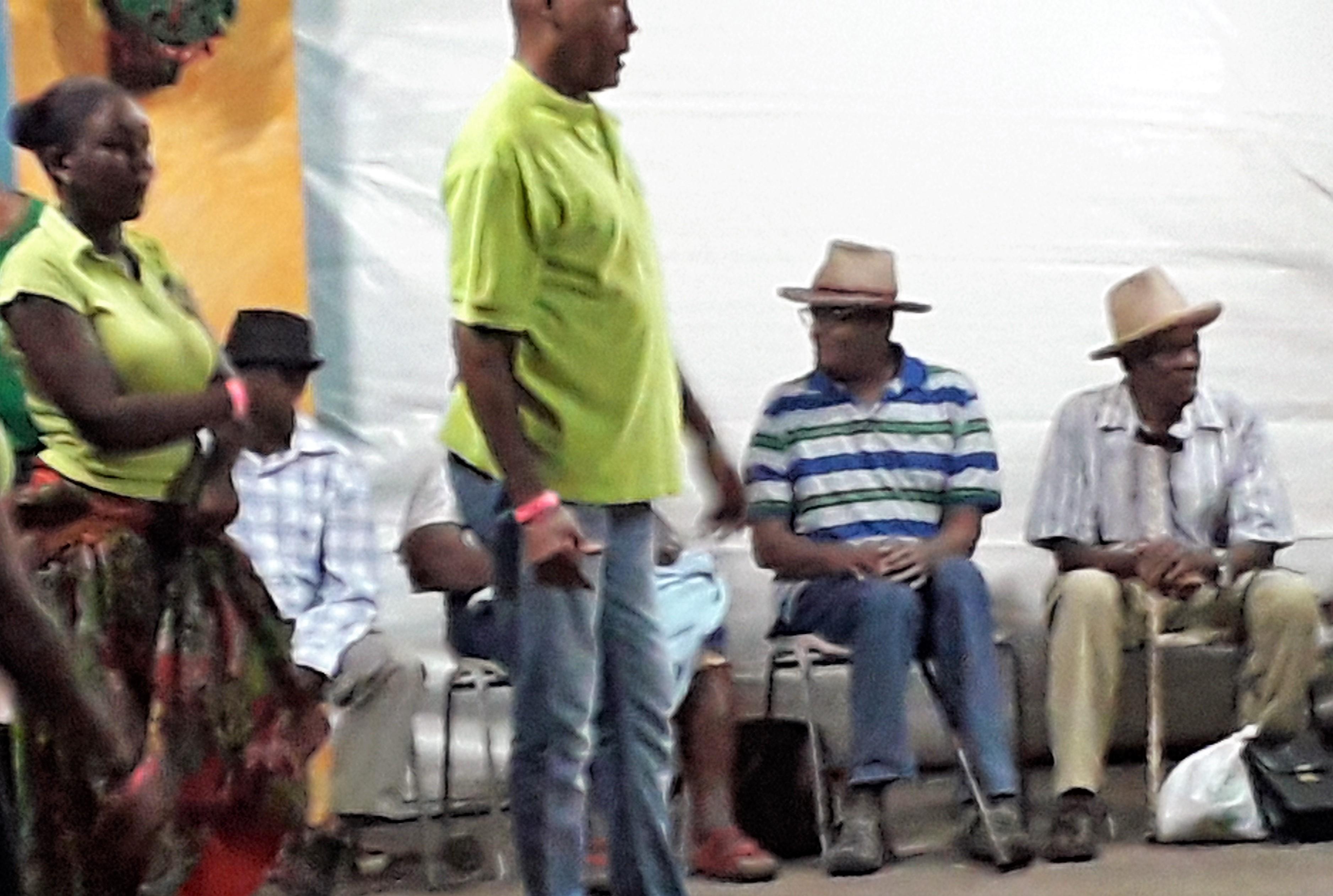 Les maîtres du bélé de Sainte-Marie - Martinique 4
