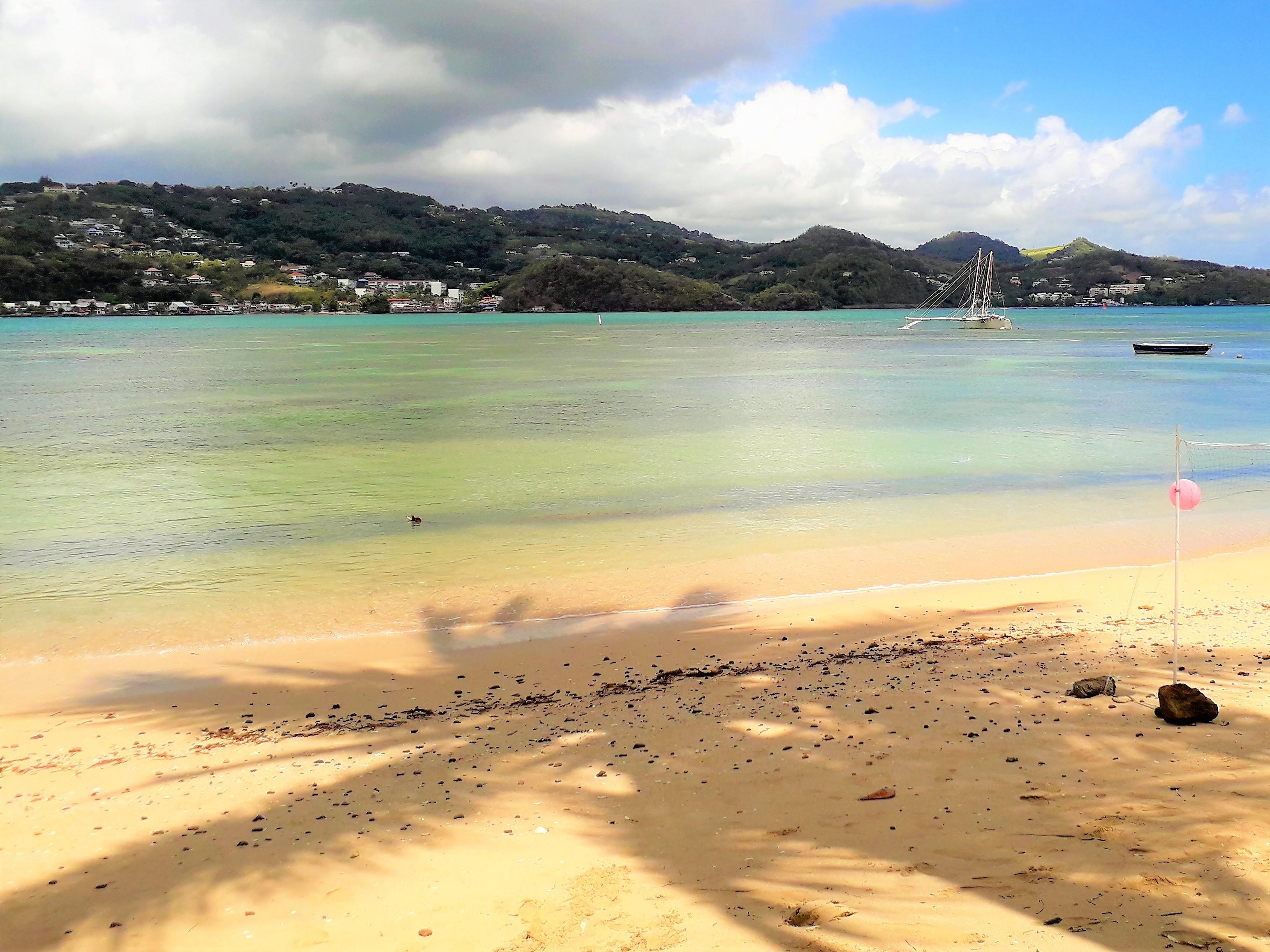 plage trinité martinique