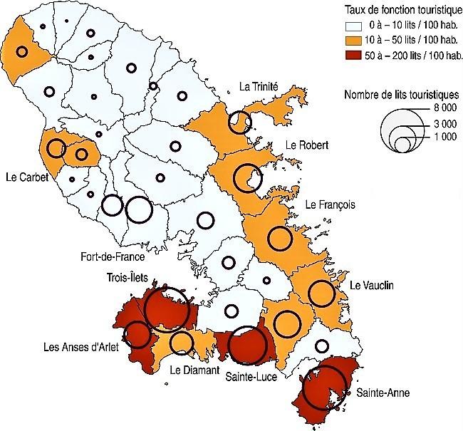 Martinique carte