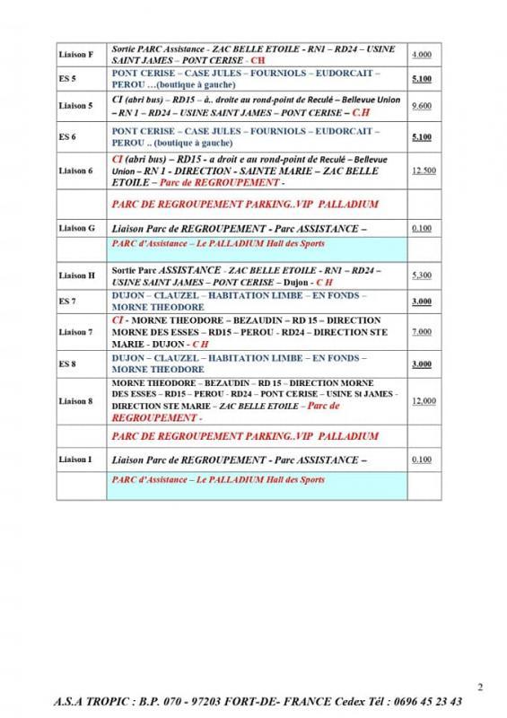 MARTINIQUE TOURISME | 23 | « RALLYE 12 H VILLE DE SAINTE MARIE »_2