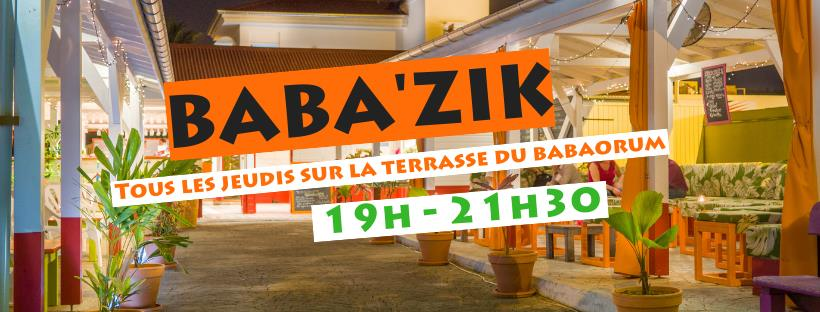 MARTINIQUE METEO | 15 | « Baba'Zik - Tous les jeudis au Babaorum »