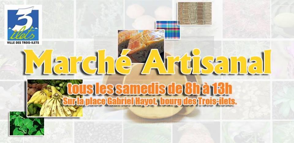 TOUT SAVOIR SUR LA MARTINIQUE | 13 | « Marché artisanal »
