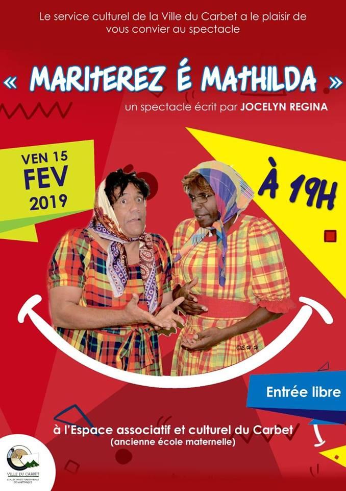 spectacle « Martiterz é Mathilda »