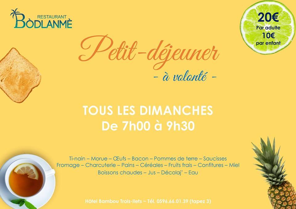 MARTINIQUE ROUTARD| 16 | « Petit-déjeuner du Dimanche »