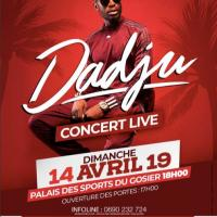 MARTINIQUE CARTE | 14 | « Dadju - Dim 14 Avril - Palais des Sports »
