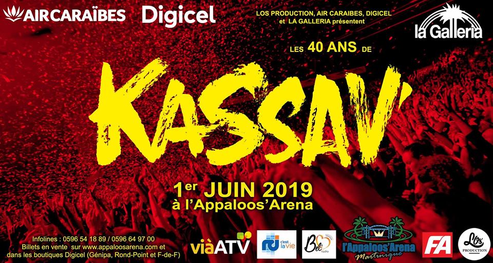 INCONTOUNABLE MARTINIQUE | 19 | « 40 ans de Kassav' en Martinique »