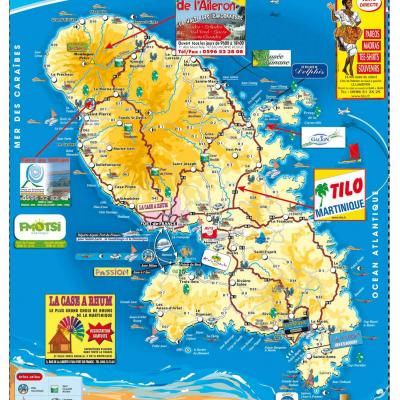 Carte Martinique Detaillee.Carte De La Martinique Telechargement Gratuit