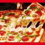 Holidays pizza