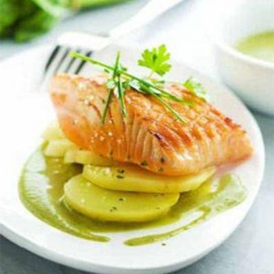 Paves de saumon