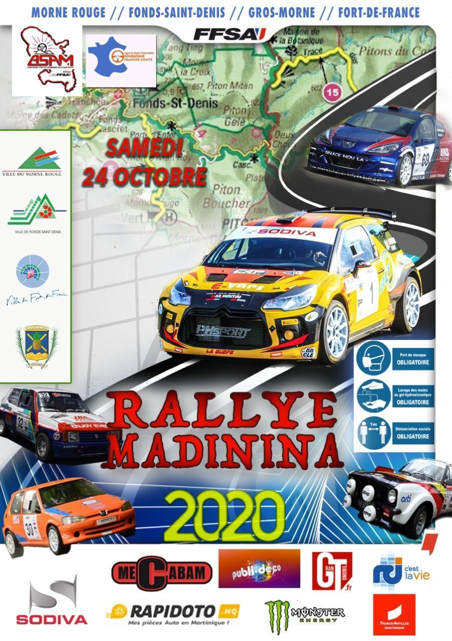 Rallye madinina 2020