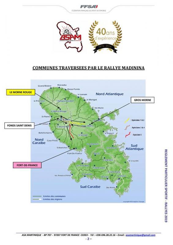 Rallye regionale madinina 2