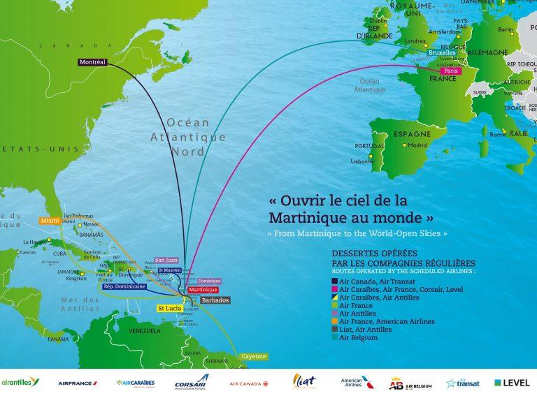 Vol martinique _ Où se trouve la Martinique par rapport à la France ?